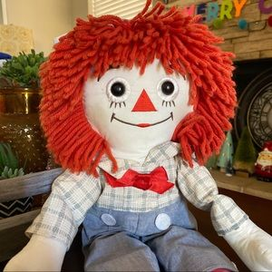 """Vintage Raggedy Andy Applause Toys 15716 22"""""""